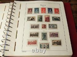 France 1939/1959 Collection complète à l'ancienne avec variétés, blocs de 4
