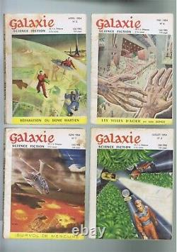 GALAXIE 1 ere série ANTICIPATION Collection complète des 65 revues ASIMOV- DICK