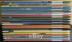 GASTON Collection complète des 16 fac-similés 6000 exemplaires 2005 État neuf