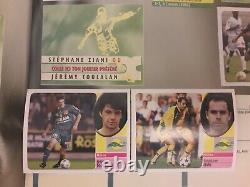 GROS LOT SET COMPLET DE 452 STCKERS TTES DIFFÉRENTE DE L'ALBUM Panini Foot 2003