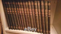 GUERRE 14/18 HISTOIRE ILLUSTREE DE LA GUERRE DE 1914, 17 volumes, complet