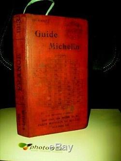 GUIDE MICHELIN de 1913 -107 ANS 14éme Année 736 Pge COMPLET ETAT COLLECTION