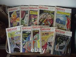 Galaxie science fiction 1e série-Collection complète de 65 n°-1953/1959