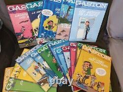 Gaston Lagaffe Édition Collector Dupuis 2012 Collection Complète De 19 Volumes