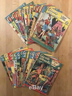 Gazelle Blanche Sagedition Collection complète des 52 numéros parus TBE