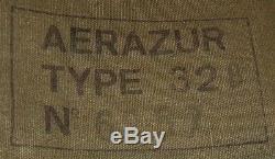 Gilet de sauvetage Aerazur Type 32B complet avec accessoires armée de lair