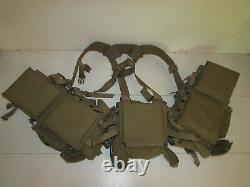 Gilet harnais de combat tactique brelage complet BLACKHAWK forces spéciales COS