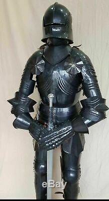 Gothique Médiévale Knight Suit de Armor Combat Complet Corps Armure Wearable