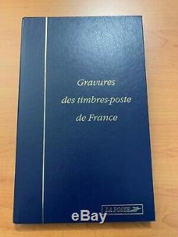 Gravures des timbre-poste de France Collection complète de 1998 à 2005