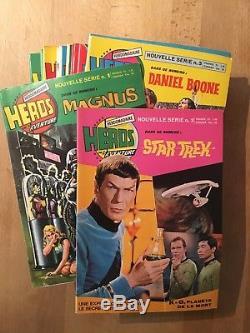 Héros de l'Aventure Magnus Star Trek Turok Collection complète 1972