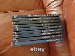 Histoire De France En Bd Collection Complete Reliee Rombaldi Avec Fiches Posters