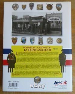 Hommes et Ouvrages de la Ligne Maginot complet de ses 5 volumes