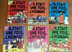 Il était une fois l'homme édition Ytra collection complète 26 n° de 1978 à 81 EO