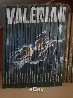 Integrale Valerian Collection Complete Hachette Neuve + Extra De Mezieres