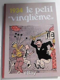 Intégrale des couvertures Petit Vingtième Collection complète 1931 1940 NEUF