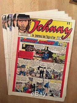 JOHNNY Collection complète des 7 numéros parus BE