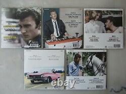 JOHNNY HALLYDAY COLLECTION COMPLETE des 10 pictures disc 45 t 1000 ex. Numéroté