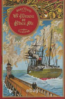 JULES VERNE Michel de l'Ormeraie. Collection complète 80 Vol. RARE