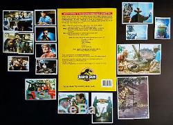 JURASSIC PARK 1992 Album de Stickers TOPPS SET COMPLET - Panini Merlin