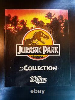 JURASSIC PARK 1992 Album de cartes WESTON Complet Spielberg classeur World