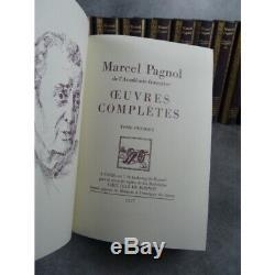 Jean de Bonnot Marcel Pagnol Oeuvres 14 volumes bel exemplaire 1977 complet coll