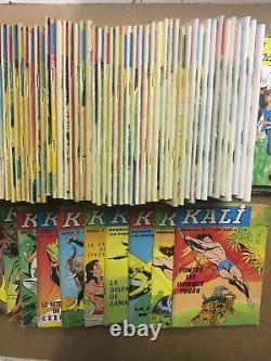 KALI Collection complète des 133 numéros parus 1966/81 TBE
