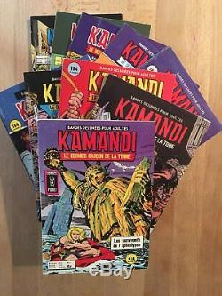 KAMANDI Collection complète des 10 numéros NEUF