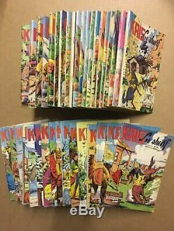 KRIS Le Sherif Collection complète des 88 numéros parus TBE