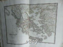 LAPIE GRAND ATLAS in plano complet de 50 cartes XIXème