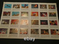 LA BATAILLE DES PLANÈTES Collection complète d'autocollants Editorial FHER