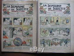 LA SEMAINE DE SUZETTE collection 15ème année COMPLETE