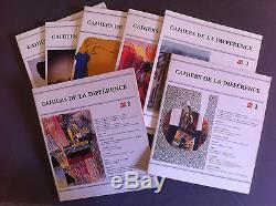 LES CAHIERS DE LA DIFFERENCE Collection COMPLETE du N°1 au N°10