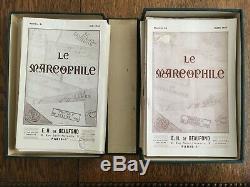 LE MARCOPHILE PAR H. De BEAUFOND COLLECTION COMPLETE 81 NUMEROS RARE