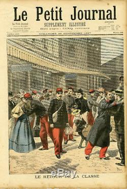 LE PETIT JOURNAL N°358 du 26/09/1897 Complet 30x44cm Bon état (ROI DE SIAM)