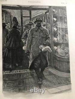 L'illustration De 1914 A 1919 11 Volumes Collection Complete, Guerre Ww1