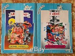 La bande des crados Album n°1 the garbage gang 1989 non complet