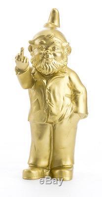 La collection complète, les 12 nains doigt d'honneur de Ottmar Horl