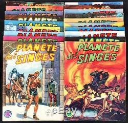 La planète des singes (0) Collection complète 19 volumes (Moench) (TBE)
