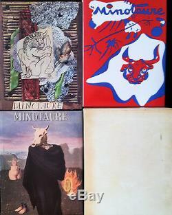Le MINOTAURE Série complète des 13 Numeros Réedition SKIRA 1981 Rare