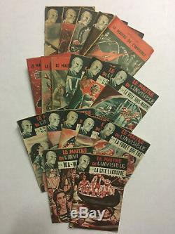 Le Maître de l'Invisible Edward Brooker SEG 1953/56 Collection complète
