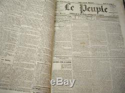 Le Peuple De Proudhon. Du Specimen Septembre 1848 A Juin 1849. Complet. Rare