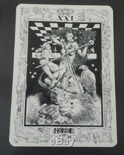 Le Tarot de gruyères Jose Roosevelt & Marie-Claire Dewarrat COMPLET gruyeres