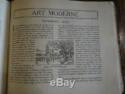 Le carnet des artistes Revue Collection Complète 1917 Coquiot Carco Fontainas