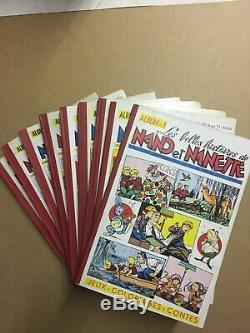 Le journal de NANO ET NANETTE Collection complète des 59 numéros TBE