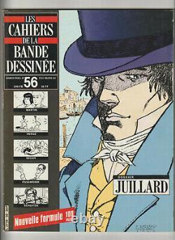 Les Cahiers De La Bande Dessinee / Collection Complete / 1984 1988 / Tbe