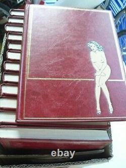 Les Chefs D'oeuvre De La Bd Erotique Collection Complete Rombaldi 15 Volumes