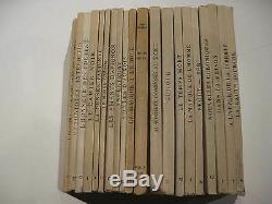 Les EDITIONS DE MINUIT. Editeur résistant. COLLECTION COMPLETE. Réédition 1945