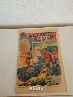 Les Gangsters De L Air Collection Complete Jose Moselli + Copie Du N 29 Tres R
