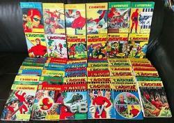 Les Héros de l'aventure (Fantôme) Rare collection complète (pr. Neuf)