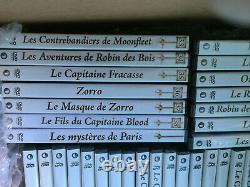 Les Plus Grands Films De Cape Et D'epee Collection Complete 39 DVD (18 Neufs)